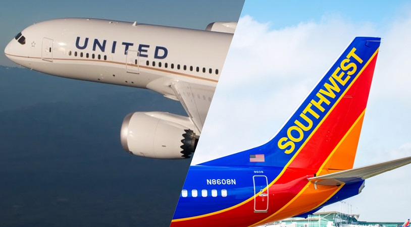southwest and united airline